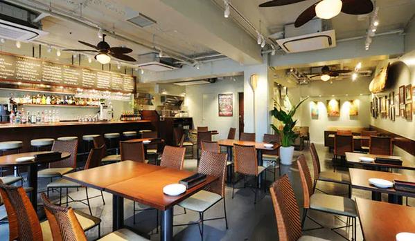 代官山のカフェ